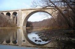 Le pont commémoratif du vétéran Image stock