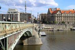 Le pont d'anges à Prague Image libre de droits