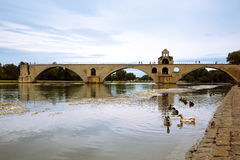 Le Pont d'Avignon Stock Photography