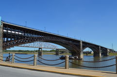 Le pont d'Eads Photographie stock libre de droits