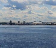 Le pont de Bayonne Photos libres de droits