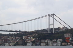 Le pont de Bosphorus Photos libres de droits