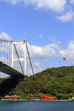 Le pont de Bosphorus, Istanbul, Turquie Photos stock