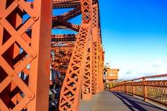 Le pont de Broadway, Portland Photographie stock libre de droits