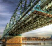 Le pont de chemin de fer Photographie stock libre de droits