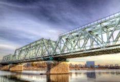 Le pont de chemin de fer Photos stock
