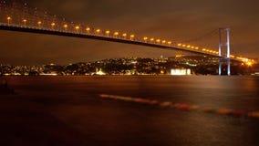 Le pont de deux continents photographie stock