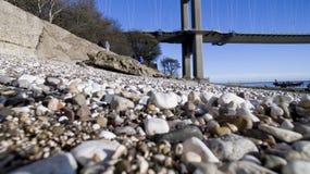 Le pont de Humber, Kingston sur la coque images libres de droits
