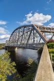 Le pont de Jervis-Matamoras de port photographie stock libre de droits