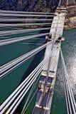 Construction de pont concret de voûte Photo libre de droits
