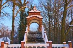 Le pont de l'amour. Photos stock