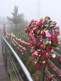 Le pont de l'amour photos libres de droits