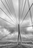 Le Pont de Normandie - Normandy Bridge Stock Images