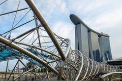 Le pont de Singapour Photographie stock libre de droits