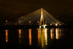 Le pont de Swietokrzyski Photo libre de droits