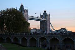 Le pont de tour Image libre de droits