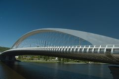Le pont de Troja, Prague Photo stock