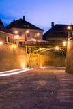 Le pont des menteurs à Sibiu Images stock