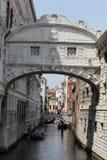Le pont des soupirs, détail architectural Image stock