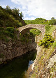 Le Pont du Diable, Thueyts Royalty Free Stock Image