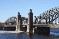 Le pont en fer Photo libre de droits