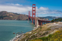 Le pont en porte d'or, San Francisco Photo stock