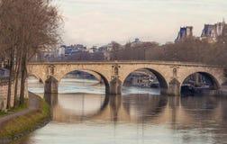 Le pont Marie, Paris, France Image stock