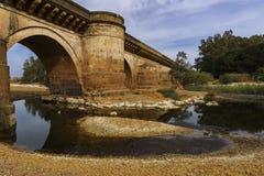 Le pont trouble Image stock