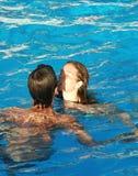 Le pool16 Image libre de droits