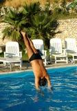 Le pool24 Image libre de droits