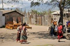 Le popolazioni autoctone hanno fatto gli affari Fotografie Stock Libere da Diritti