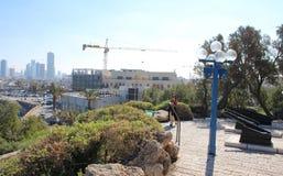 Le port antique de Jaffa, Tel Aviv, Israël images libres de droits