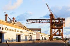 Le port d'Ilheus, Brésil photos stock