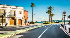 Le port dans Javea, Espagne image stock