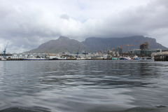 Le port de bord de mer à Cape Town Afrique du Sud Photographie stock libre de droits