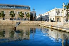 Le port de Carthagène, Espagne Photos stock