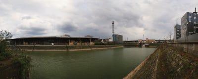 le port de duisburg innenhafen Photographie stock libre de droits
