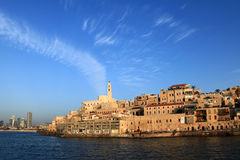 Le port de Jaffa Images libres de droits