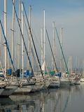Le port de l'aile du nez de Punta images libres de droits