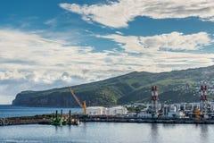 Le Port de La Reunion, France Stock Photo