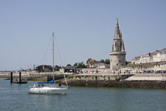 Le port de La Rochelle Photos stock