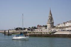 Le port de La Rochelle Fotografie Stock