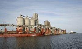 Le port de Necochea, Argentine Photo libre de droits