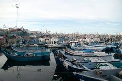 le port de Tanger Photographie stock libre de droits