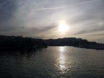 le port de Tanger Photo stock