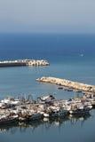 Le port du sciacca, Sicile Photographie stock