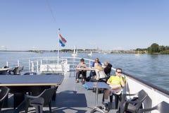 Le port externe d'Enkhuizen Images libres de droits