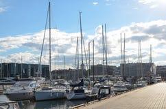 Le port maritime de Tallinn Photographie stock