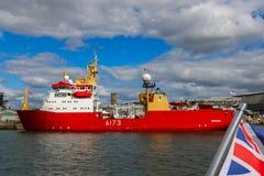 Le port naval britannique de Plymouth Photo stock