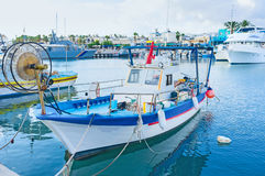 Le port tranquille Photographie stock